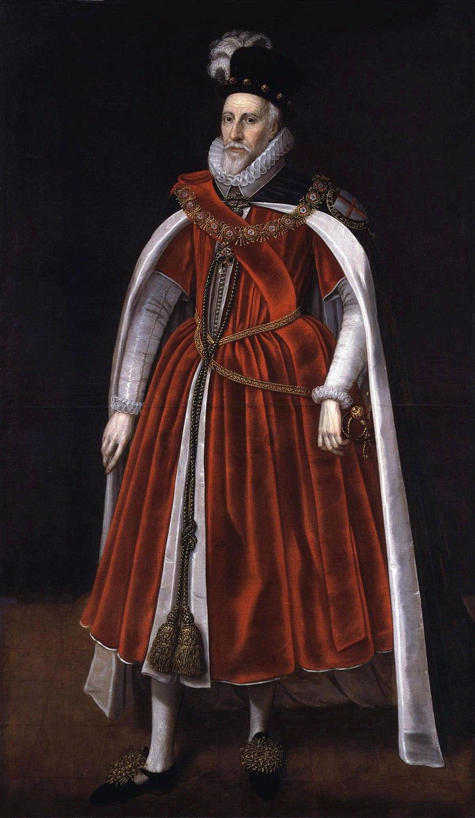 Charles Howard, 1st Earl of Nottingham from NPG