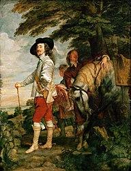 Anthony van Dyck: Charles I at the Hunt