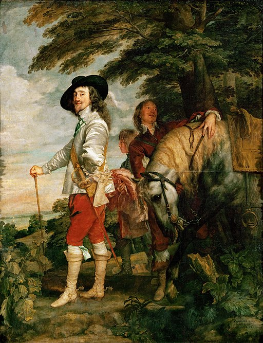 """Charles I at the Hunt"" by Anthony van Dyck"