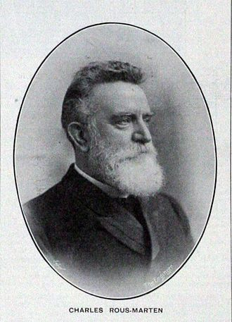 Charles Rous-Marten - Photograph of Charles Rous-Marten from his Obituary in The Engineer