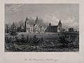 Charterhouse Schools, Godalming, Surrey. Etching by J.C. Arm Wellcome V0012699.jpg