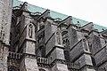 Chartres - cathédrale - arcs-boutants de la nef.JPG