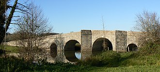 Chatain - Bridge over the Charente