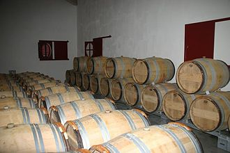 Château Haut-Bailly - Image: Chateau Haut Bailly barrels