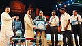 Chaudhary Birender Singh and the Minister of State for Culture and Tourism (Independent Charge), Dr. Mahesh Sharma, at the Rashtriya Sanskriti Mahotsav-2016, organised by the Ministry of Culture, in New Delhi (1).jpg