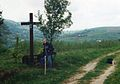 Chelm i Jaszczurowa znad Chytrowki, Pogorze Strzyzowskie, 9.5.1999r.jpg