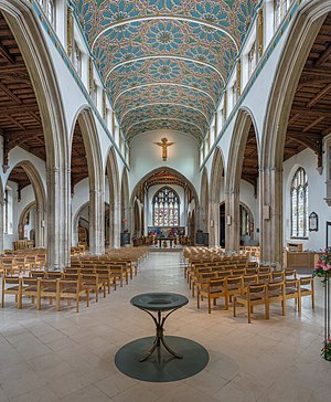 Chelmsford Cathedral - The nave
