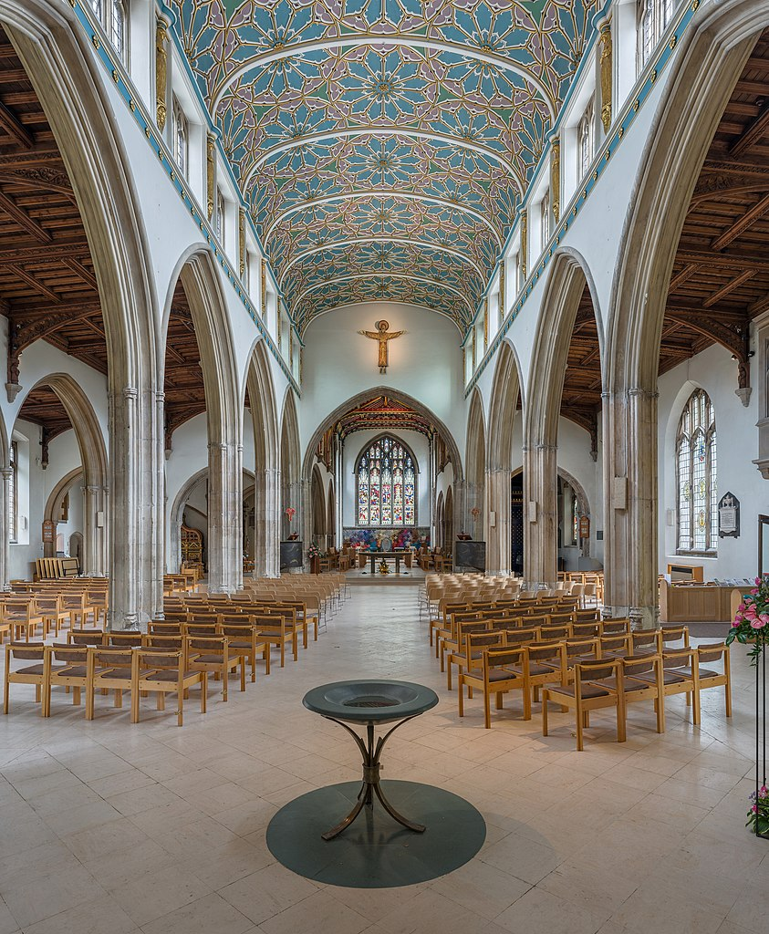 File Chelmsford Cathedral Nave 1 Essex Uk Diliff Jpg
