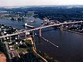 Chesapeake & Delaware Canal from Chesapeake City.jpg