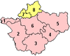 Cheshire's current divisions