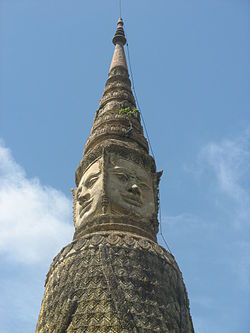 Mak Proum Stupa in Udong