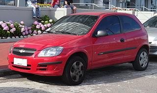 Chevrolet Celta low cost supermini car