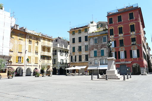 Chiavari-piazza mazzini
