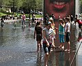 Chicago (ILL) Millennium Park, Crown Fountain, Jaume Plensa. 2004 (482390693).jpg