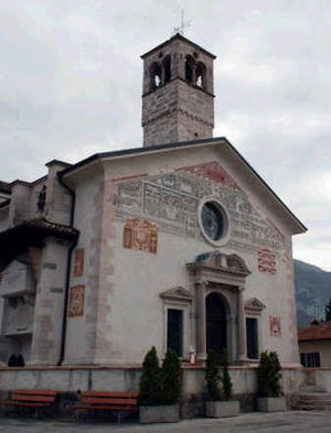 Comano Terme - Dasindo church