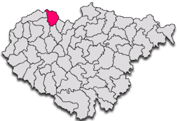 Commune Chieşd in Sălaj County
