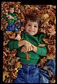 Child Playing In Leaves (Missouri State Archives) (8204302274).jpg