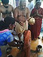 Chinalingala Sri Kodanda Ramalayam pradhama varshikothsavam dasanjaneya swamy 1.jpg