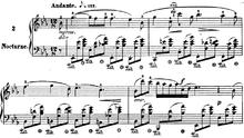 楽譜 ショパン ノクターン ショパンのノクターンop.9