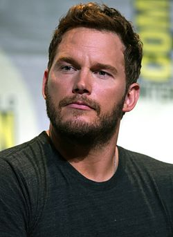Chris Pratt juli 2016.