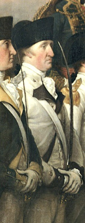 Christian of the Palatinate-Zweibrücken (1752–1817) - Christian depicted in Surrender of Lord Cornwallis by John Trumbull.