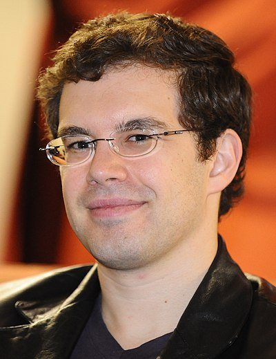 Picture of an author: Christopher Paolini