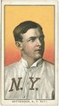 Christy Mathewson, New York Giants, baseball card portrait LCCN2008676494.tif