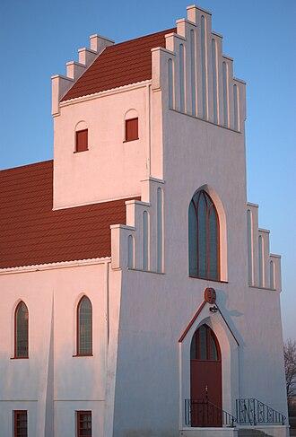 Dalum, Alberta - Bethlehem Lutheran Church, Dalum, Alberta. Inspired by a typical Danish church
