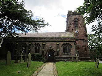 Listed buildings in Ince - Image: Church of St James the Great, Ince (7)