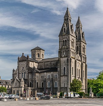 Church of the Sacred Heart of Rodez, Aveyron, France