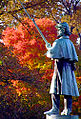 "Cincinnati - Spring Grove Cemetery & Arboretum ""Civil War Soldier in Autumn"".jpg"