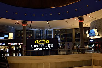 Empress Walk - Empress Walk Cineplex Cinemas (formerly Empire Theatres, poir to that Silver City).