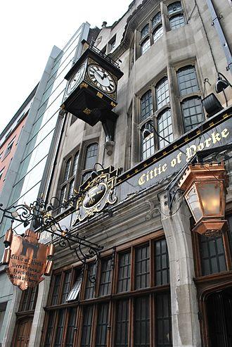Cittie of Yorke - Cittie of Yorke clock