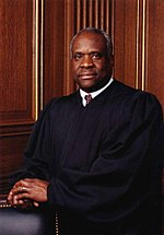 Justice Clarence Thomas portrait