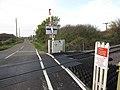 Clark's Drove level crossing - geograph.org.uk - 1580224.jpg
