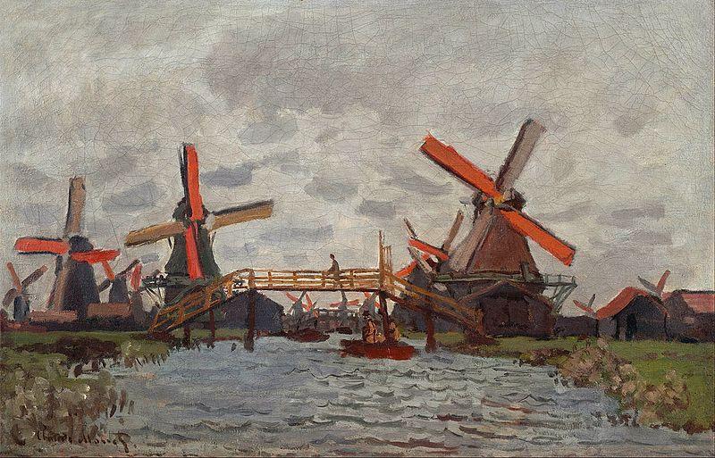 File:Claude Monet Mills in the Westzijderveld near Zaandam.jpg