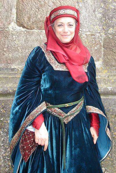 Claudine Glot aux 27e médiévales de Provins
