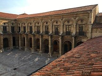 Basilica of San Isidoro, León - Cloisters at the Basilica