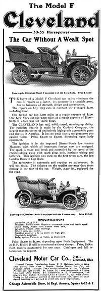 Cleveland (automobile) - Wikipedia