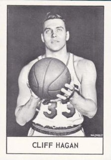 Cliff Hagan American basketball player and coach