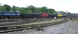Clifton (Staten Island Railway station) - Clifton Yard