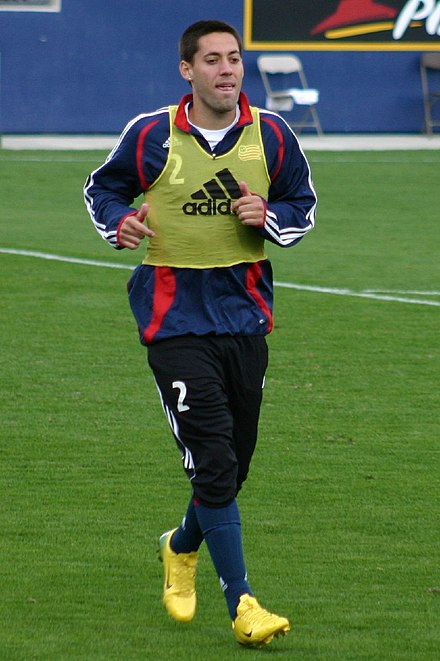 6e36adae5 Dempsey with the New England Revolution in 2006