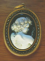 Close-up of cameo pendant at Chapultepec Castle.jpg