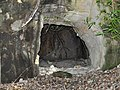 Closeup view of Ekoda Ouketsu Cave in 2010.jpg
