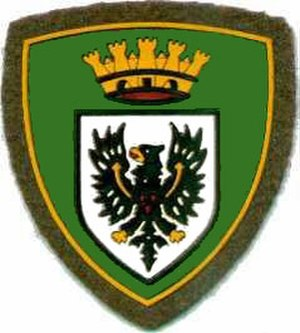 Alpine Brigade Tridentina - Coat of Arms of the Alpine Brigade Tridentina