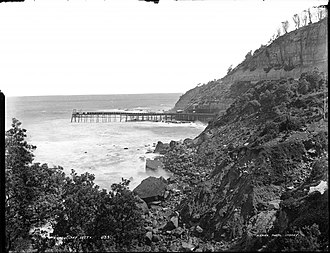 Coalcliff, New South Wales - Coalcliff Jetty 1885