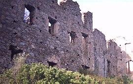 Ruinoj de la fortikaĵo de Coasina