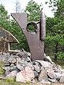 Coastal artillery monument in Kuivasaari.JPG