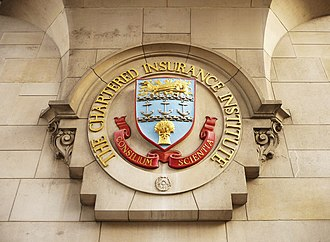 Chartered Insurance Institute - The coat of arms of the Chartered Insurance Institute
