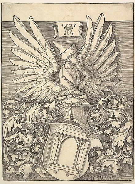 File:Coat of Arms of Albrecht Dürer MET DP816462.jpg